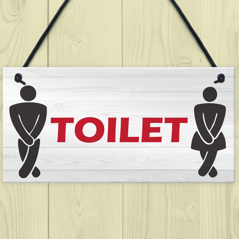Toilet Sign Design Vintage