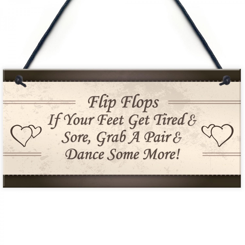 cc3587fd5 Wedding Reception Decor Flip Flop Grab A Pair   Dance Sign Props