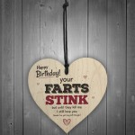 Love You Funny Happy Birthday Heart Boy Girl Man Wife Sign Gifts