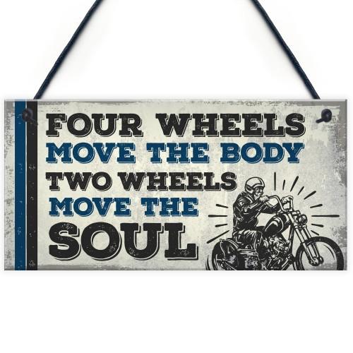 Vintage Retro Motorbike Motorcycle Racing Wall Man Cave Sign