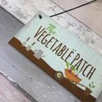 Vegetable Patch Vegetable Garden Shed Sign Grandad Grandma