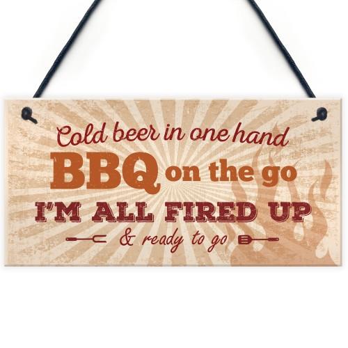 BBQ Sign Garden SummerHouse Bar Man Cave Shed Plaque