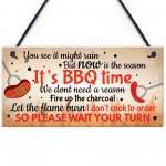 BBQ Novelty Garden Sign SummerHouse Bar Man Cave Shed Plaque