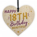 18th Birthday Card Decorations Heart 18th Daughter GIFTS