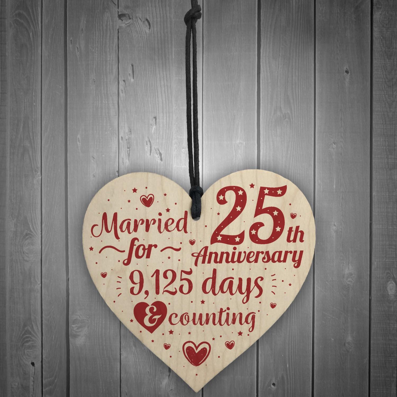 Five Year Wedding Anniversary Gifts: 25th Wedding Anniversary Gifts Silver Twenty Five Years Gift