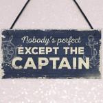 Nautical Sign Captain Bar Pub Bathroom Man Cave Kitchen Plaque