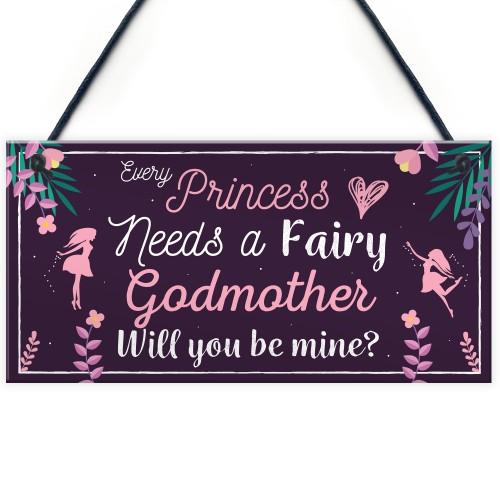 Be My Godmother Thank You Keepsake Christening Godparent Gifts