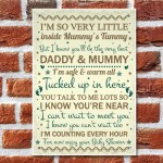 Baby Shower Thank You For Coming Table Wall Plaque Decoration