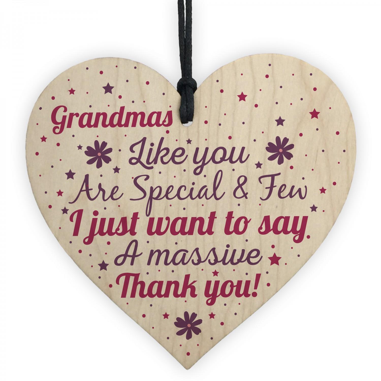Gifts for Nanny Nan Granny Grandma Heart Sign Birthday ...