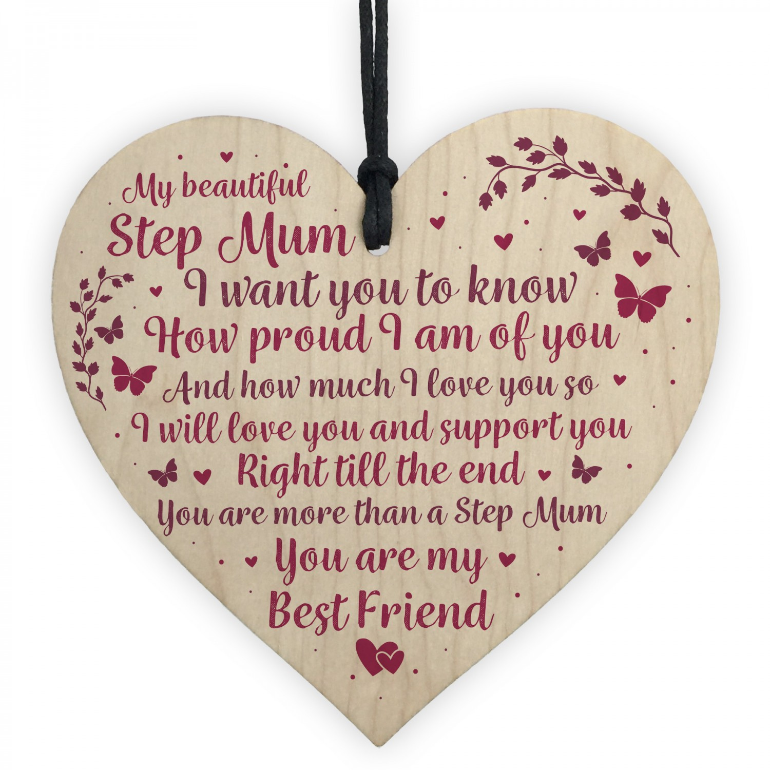 Stepmum Birthday Gifts Step Mum Presents For Mothers Day Sign