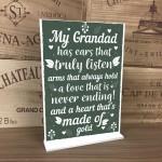 Birthday Christmas Present For Him Grandad Gifts Keepsake Gifts