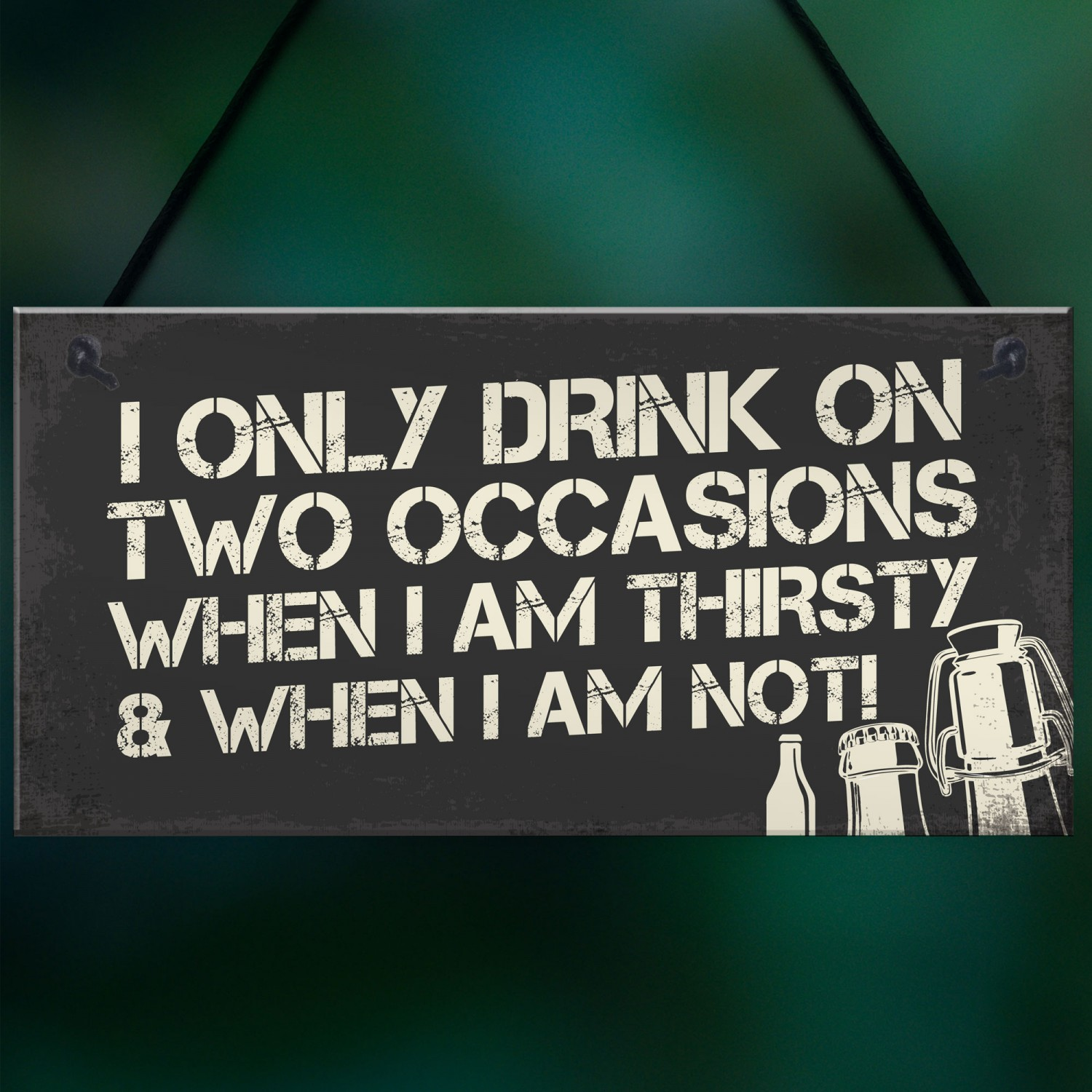 Funny Home Bar Signs And Plaques Alcohol Man Cave Gifts Sign