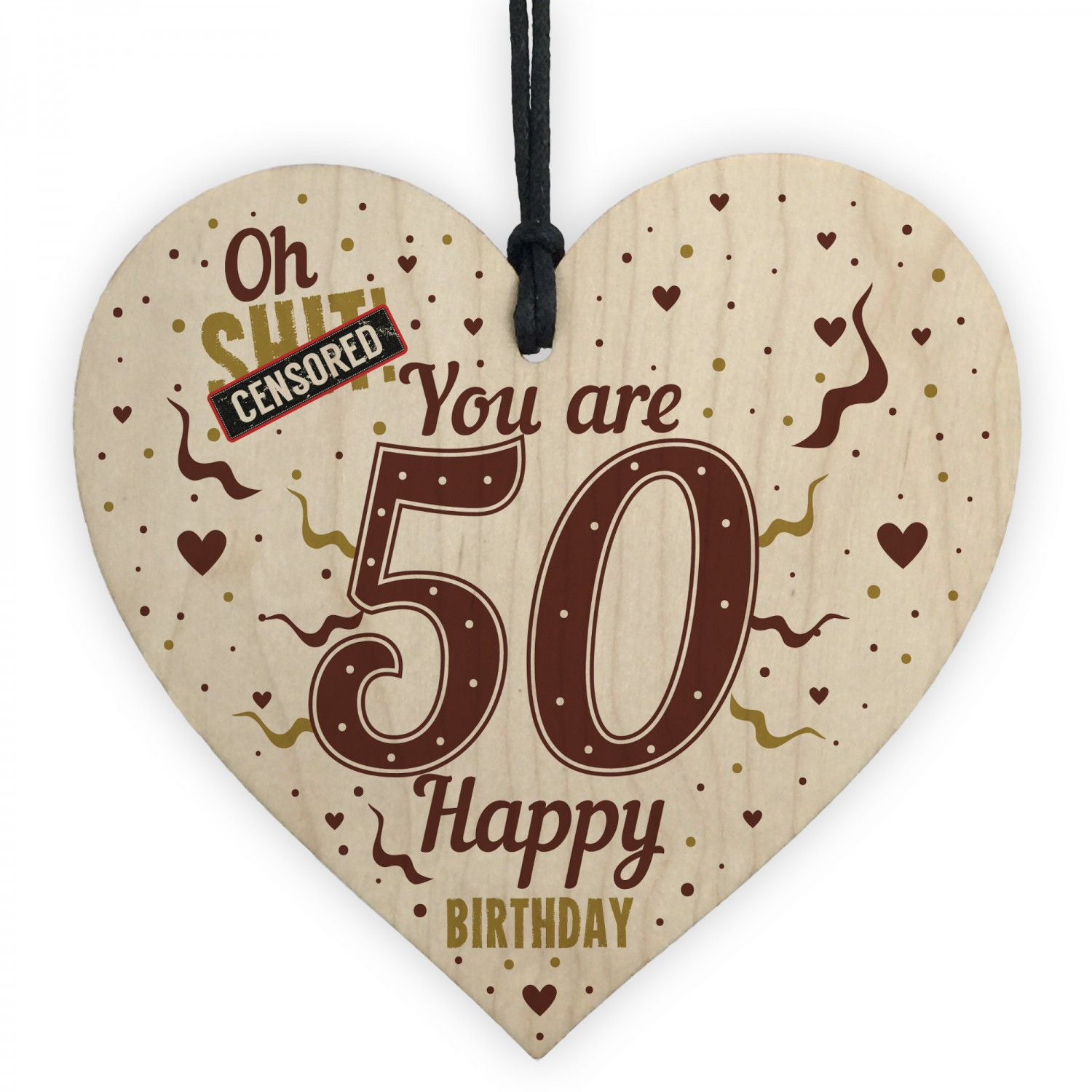 50th Birthday Gifts For Women Men Heart