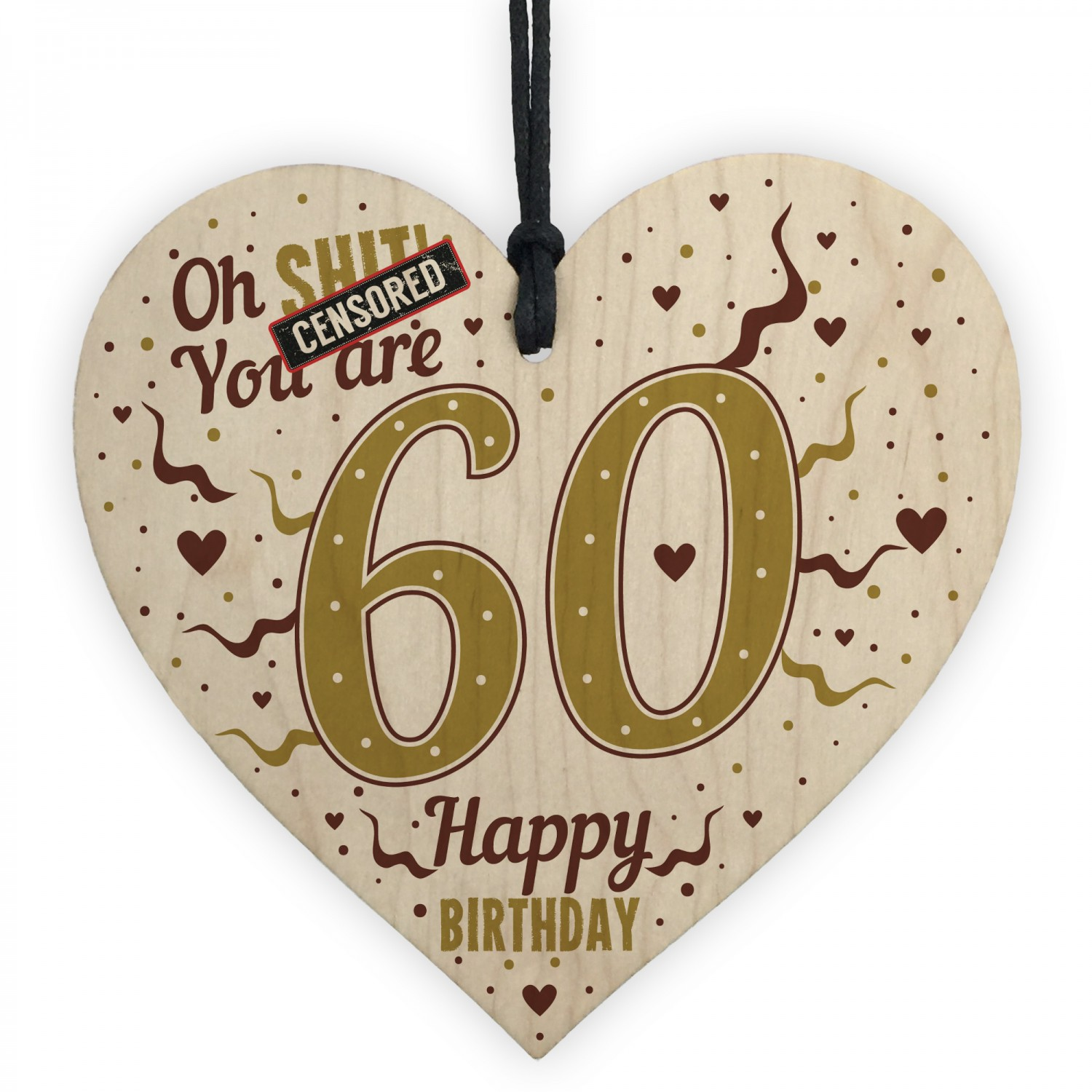 60th Birthday Gifts For Women 60th Birthday Gifts For Men Heart