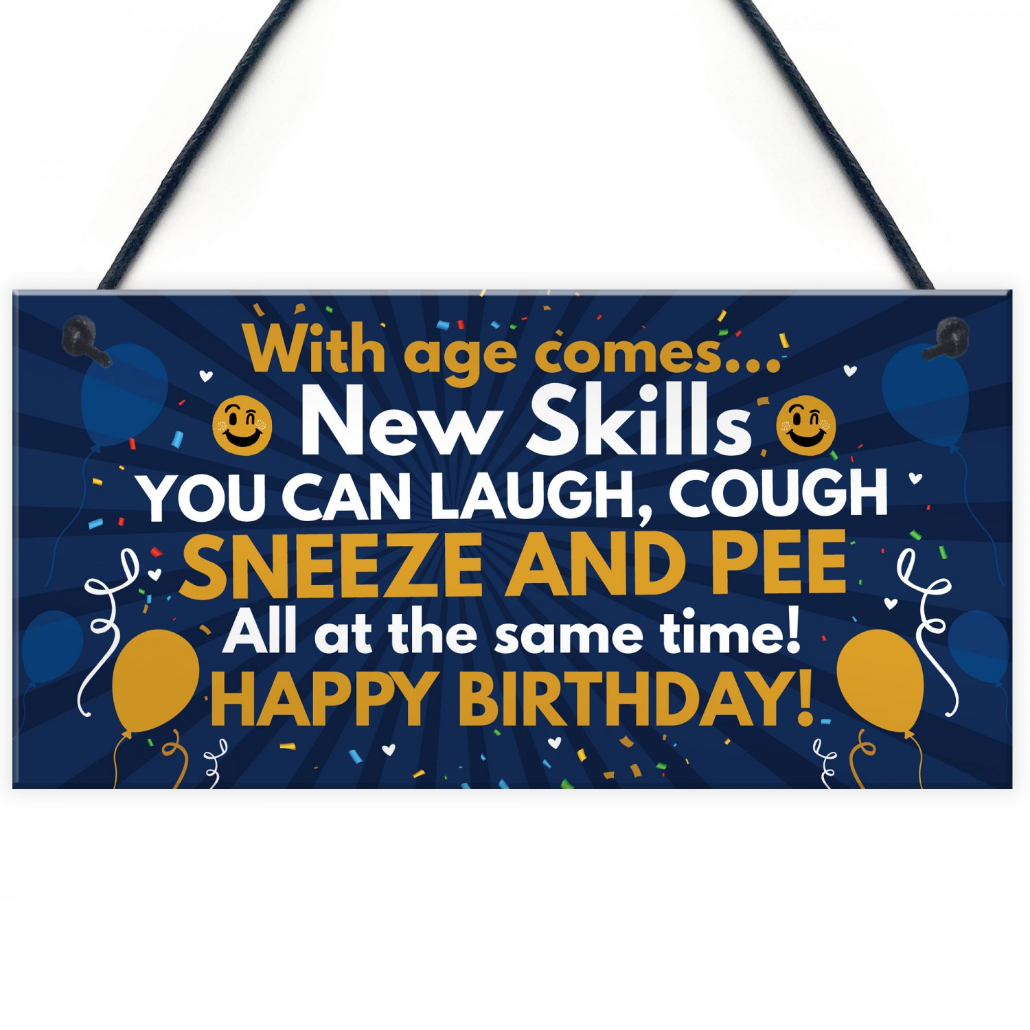 Funny 40th 50th 60th Birthday Gifts For Men Women Decor