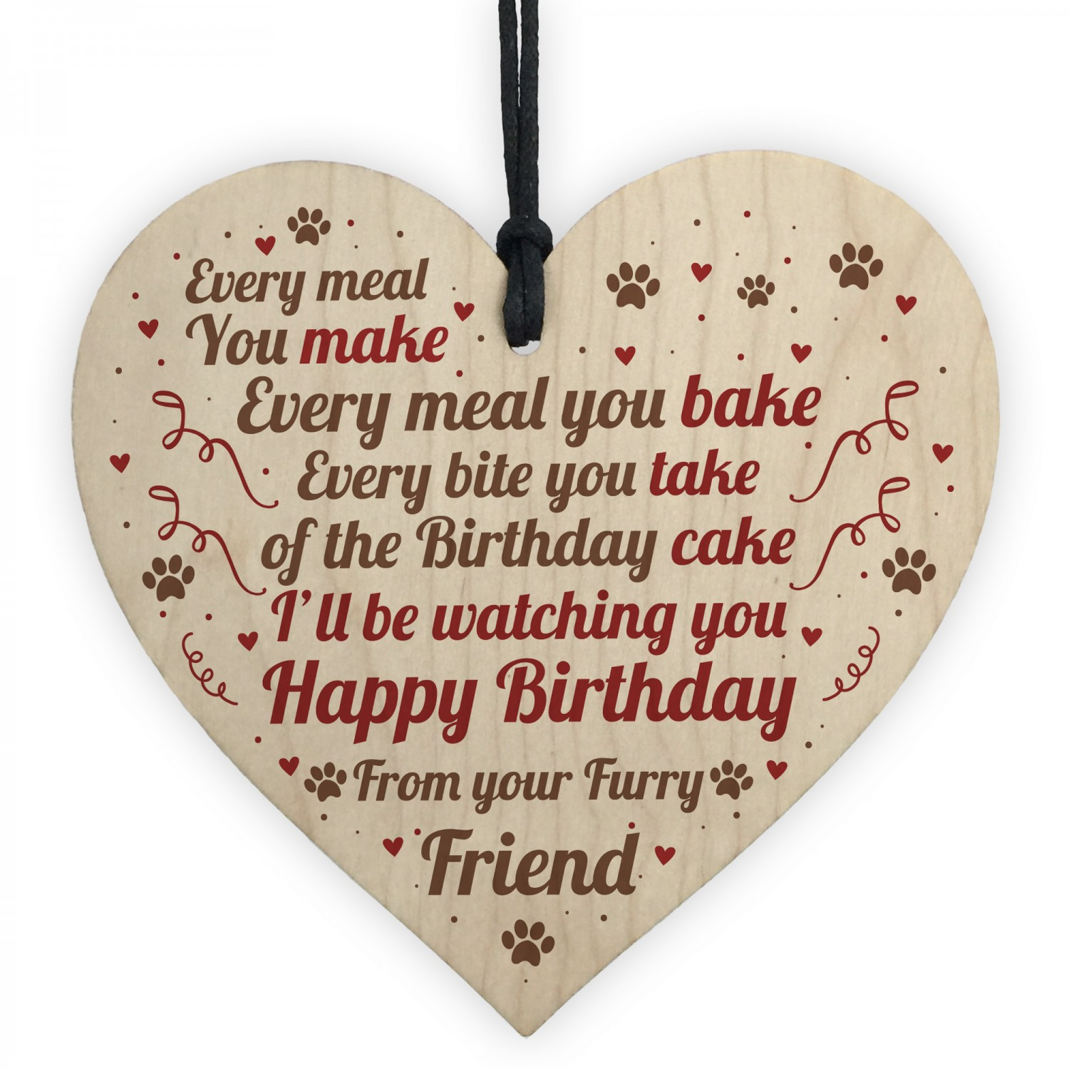 Funny Birthday Gift From Dog Pet Theme Novelty For Husband