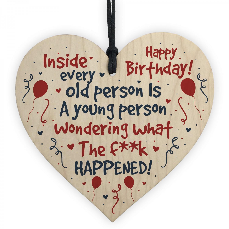 Funny Happy Birthday Card For Mum Dad Nan Grandad 50th 60th 70th