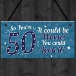 50th Birthday Gift For Men 50th Birthday Presents Women Mum Dad