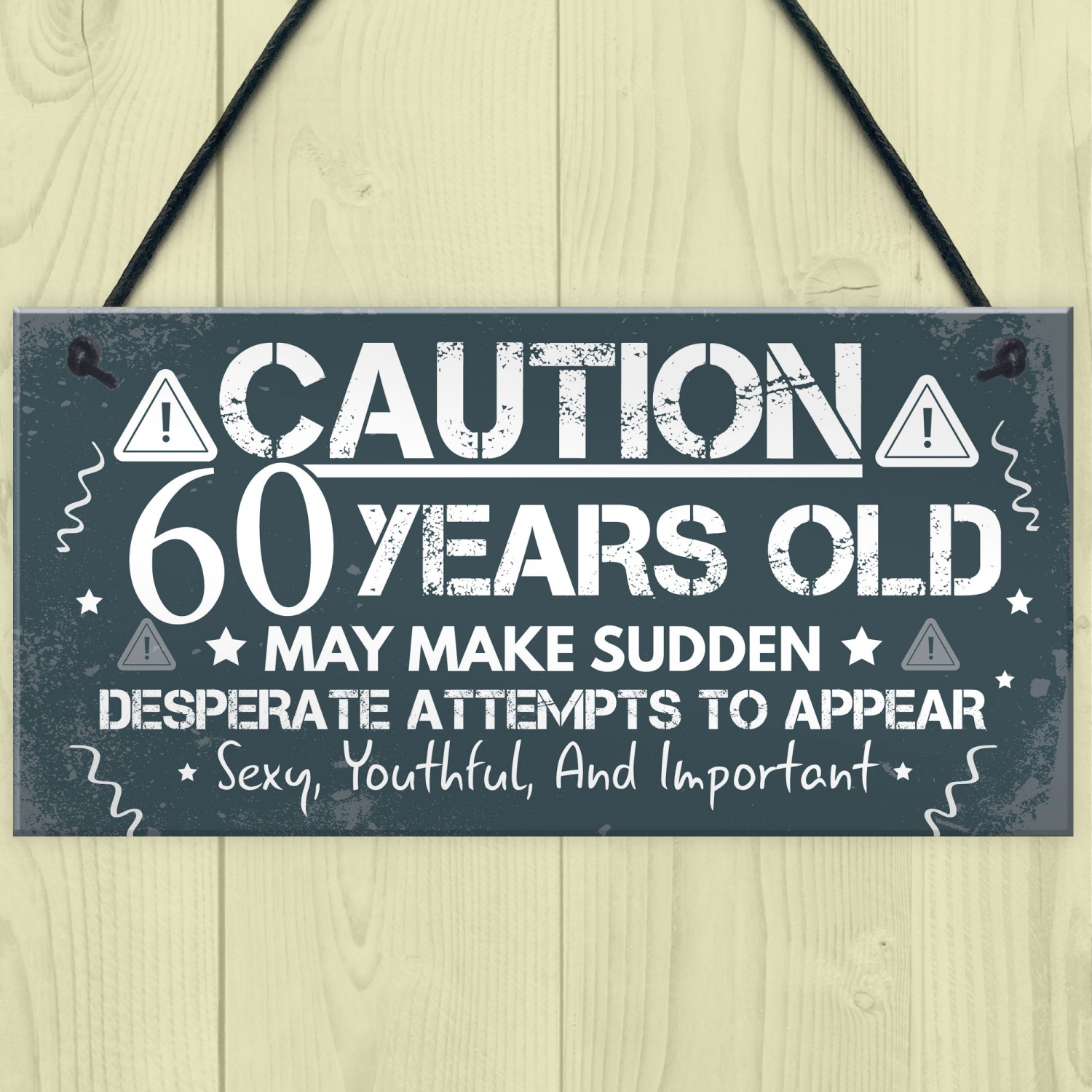 60th Birthday Card For Men Women Friend Gifts