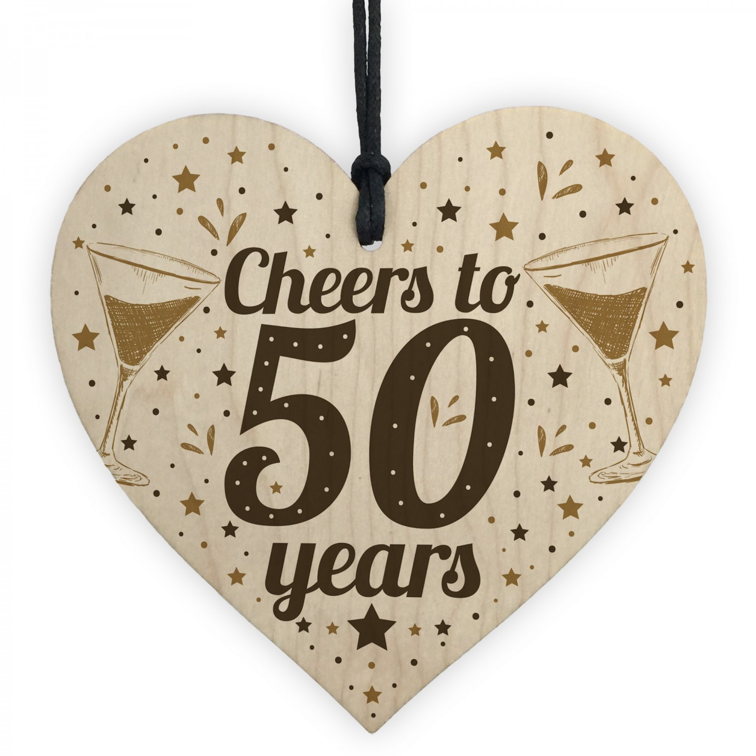 Cheers To 50 Years 50th Birthday Gift For Women