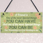 Special Thankyou Gift Friendship Plaque Love Sign Birthday Gift