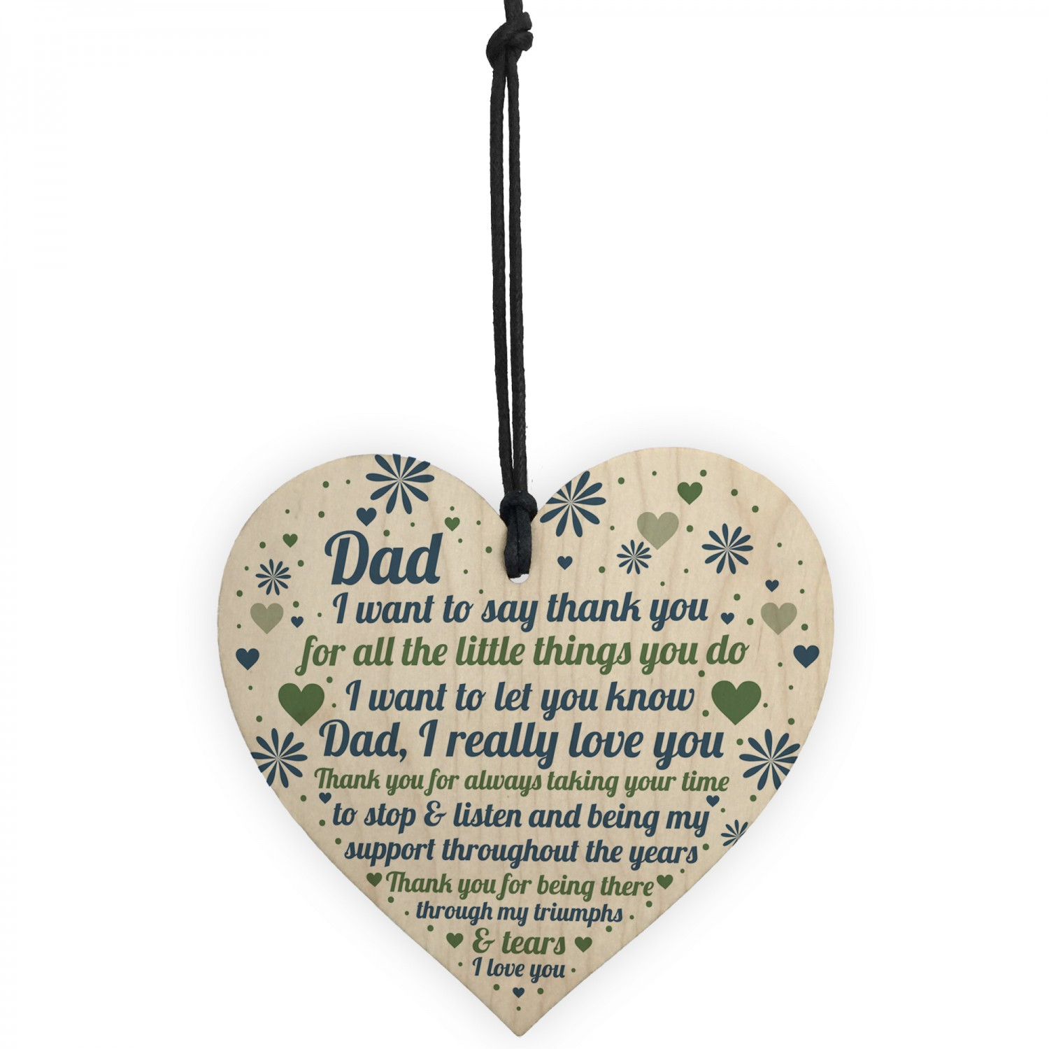 Dad Card Daddy Daughter Gift Birthday For From Son