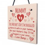 Mothers Day Card From Bump Mummy To Be Gifts Sign Mum Gifts