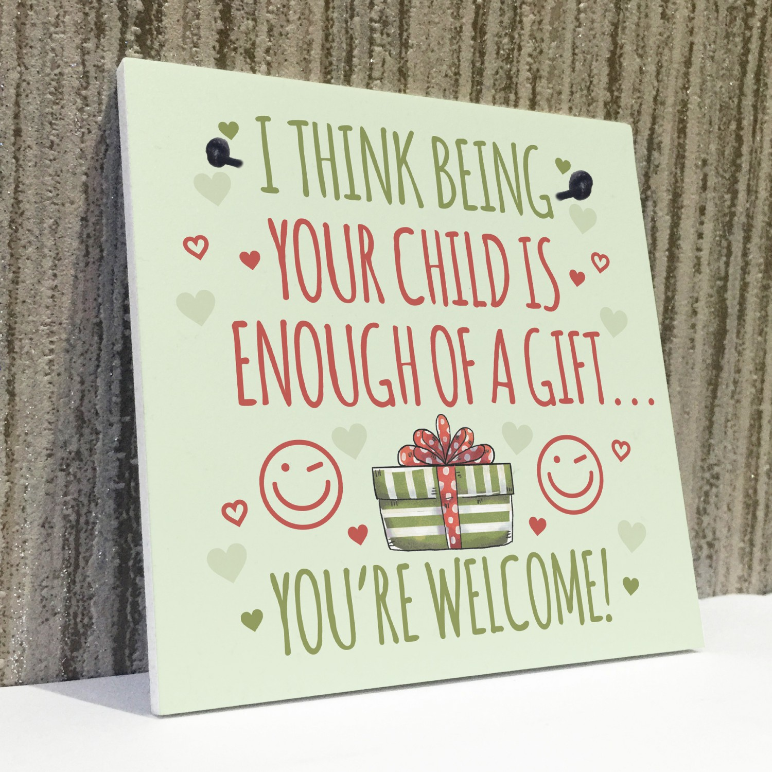 Funny Birthday Card For Mum Dad Gifts Him Her