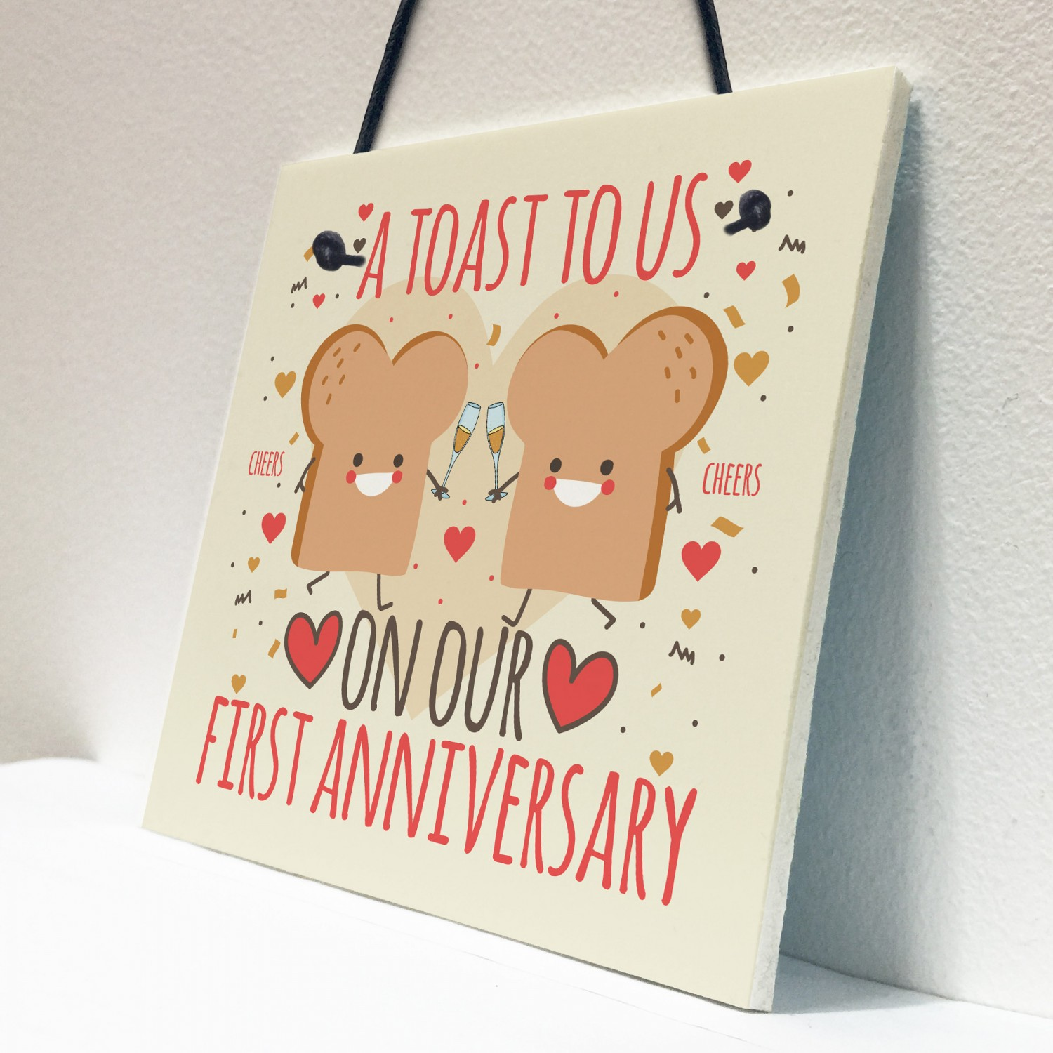 funny joke anniversary card for him her first anniversary