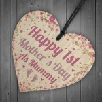 First Mothers Day Gifts 1st Mothers Day Cards Wooden Heart Mum
