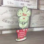 Mothers Day Gift Wooden Flower Nan Birthday Gift Sign NAN Gifts