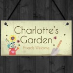 Personalised Garden Signs And Plaques Any Name Summer House