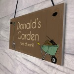 Garden Signs Personalised Any Name Summer House Garden Shed