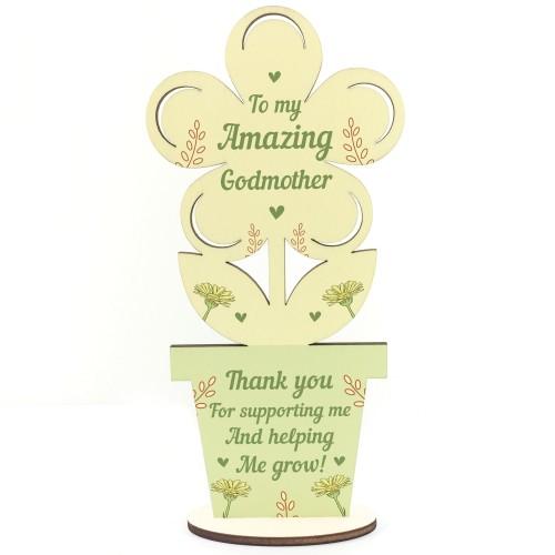 Amazing Godmother Birthday Christmas Gift Thank You Gifts Flower
