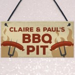 BBQ Sign Personalised BBQ Sign For Garden Signs And Plaques