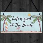 Beach Plaque Nautical Theme Hanging Plaque Hot Tub Garden