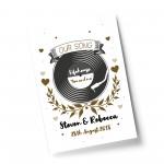 1st 2nd 5th Anniversary Gift For Husband Wife Boyfriend Print