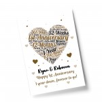 1st Anniversary Gift Wedding Anniversary Gift For Wife Husband
