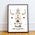1st 2nd 10th Wedding Anniversary Gift For Husband Wife Newly Wed