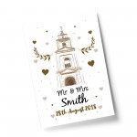 1st 2nd 10th Special Wedding Anniversary Print Husband Wife Gift