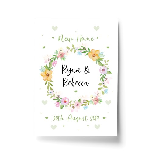 1st First Home New Home Gift Personalised House Warming Present