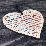 16th Birthday Gift For Daughter Son 16th Birthday Facts Heart