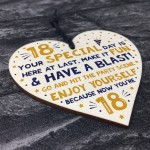 18th Card Eighteenth Birthday Gift For Daughter Son 18 Decor