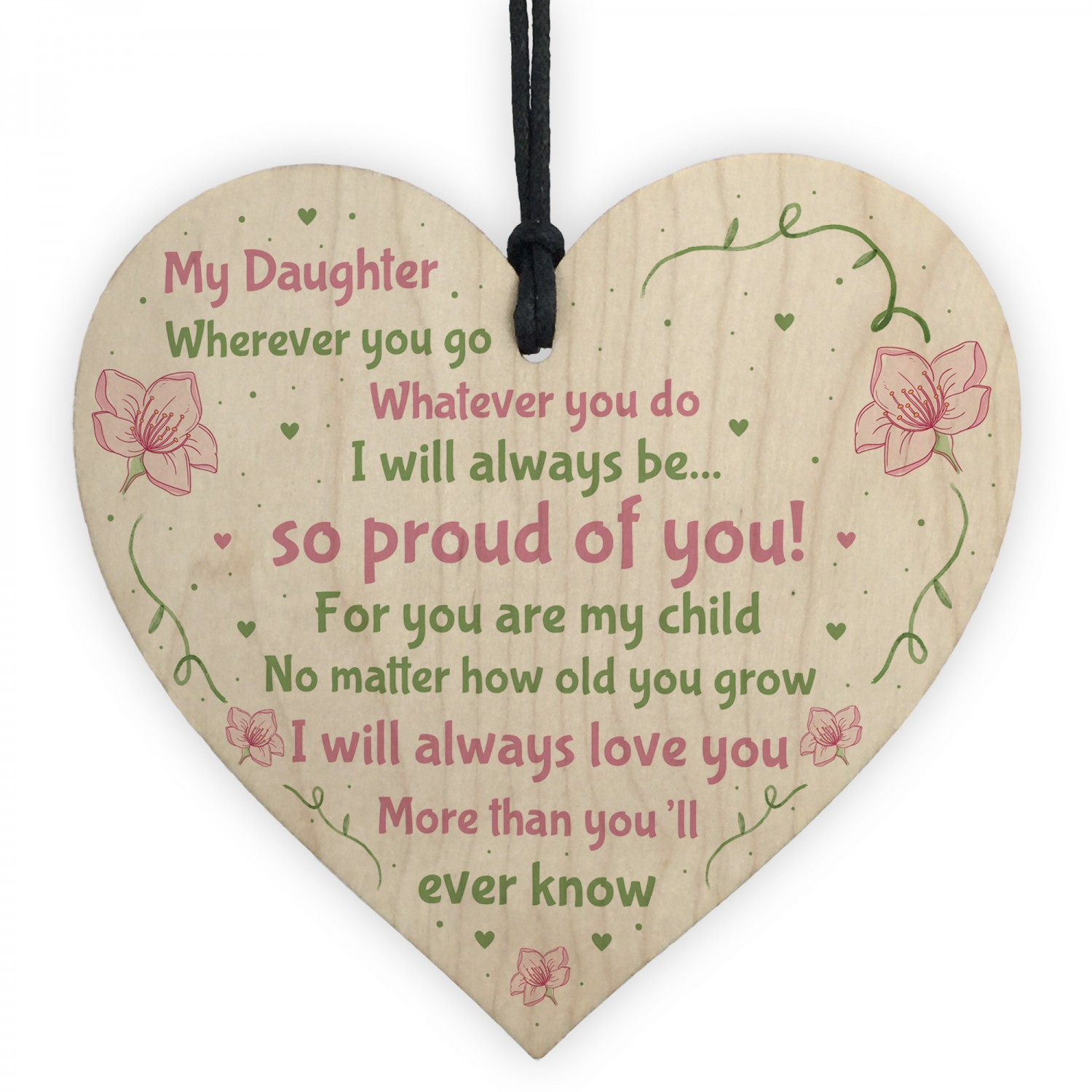 Daughter Birthday Card 16th 18th 21st Card Daughter Gift For Her