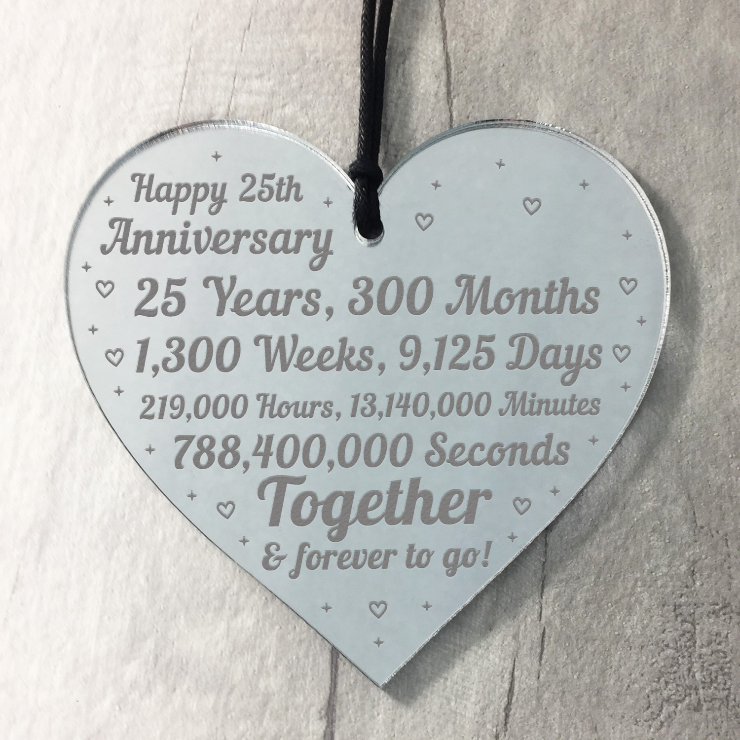 9th Anniversary Gift For Him Her 9th Wedding Anniversary Heart
