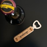 Personalised Gift For Dad Birthday Fathers Day Bottle Opener