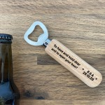 Wedding Favours For Friends Personalised Wooden Bottle Opener