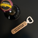 Fathers Day Gift PERSONALISED Bottle Opener Gift For Dad Novelty