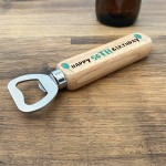 Personalised Birthday Bottle Opener Gift 30th 40th 50th Birthday
