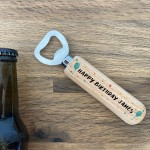 Personalised Bottle Opener Gift For Birthday Novelty Birthday